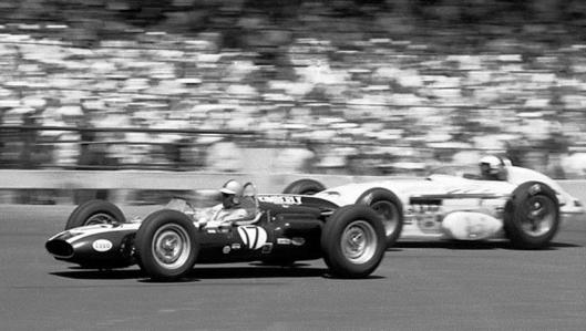 Jack Brabham #17 at the 1961 Indy 500