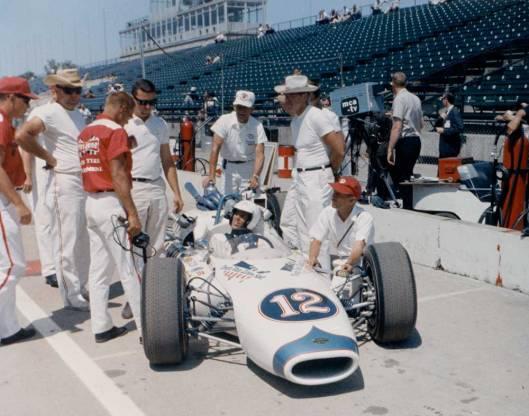 Mario Andretti and the Brawner-Hawk