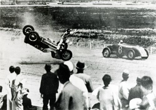 Honda crash Tamagawa