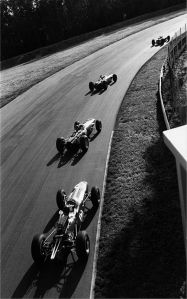parabolica 1965 - clark leading stewart hill and gurney