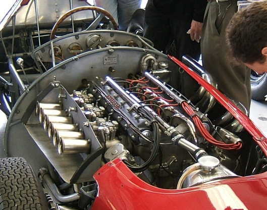 Maserati_250F_engine